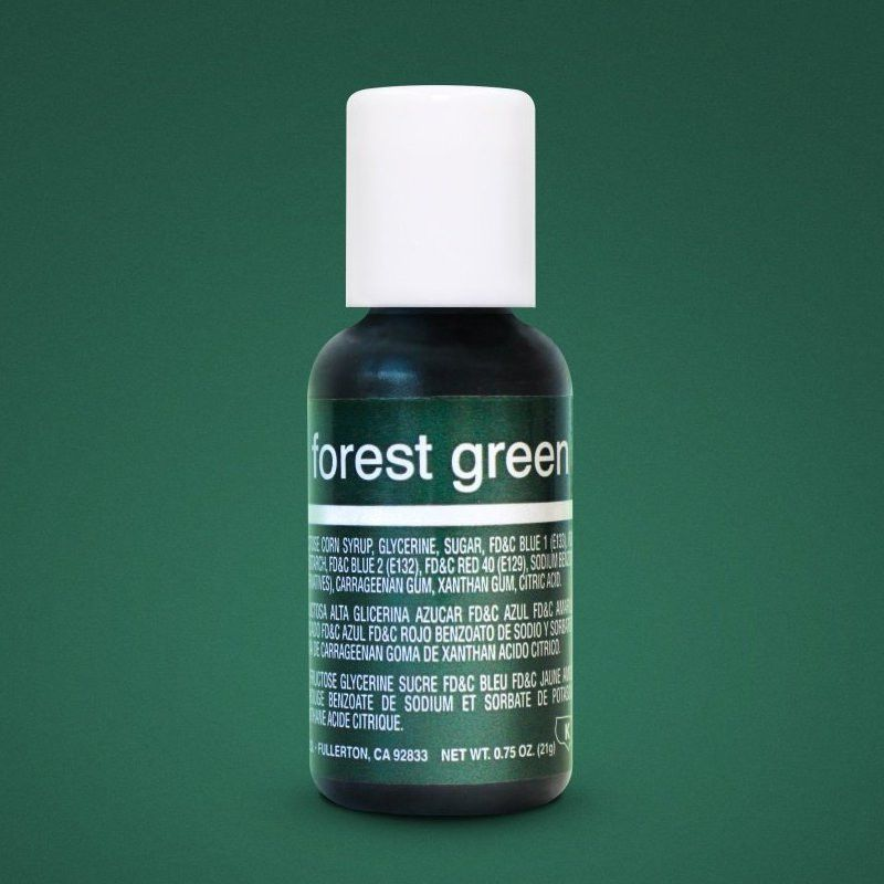 Гелевий краситель Chefmaster Liqua-Gel Forest Green - фото